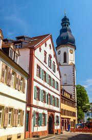 foto of trinity  - Lautturm tower of the Holy Trinity Church in Speyer Germany - JPG