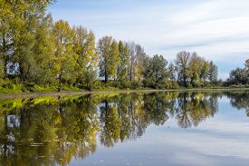 pic of novosibirsk  - Fishing in warm autumn day - JPG