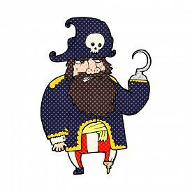 foto of peg-leg  - cartoon pirate - JPG