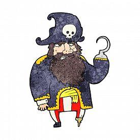 image of peg-leg  - cartoon pirate - JPG