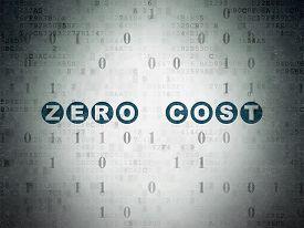 stock photo of zero  - Finance concept - JPG