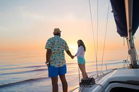 picture of yacht  - Journey around the world on a yacht - JPG