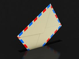 image of three dimensional shape  - letter - JPG