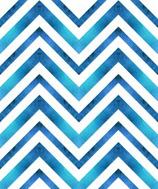 stock photo of chevron  - Seamless retro geometric pattern with zigzag lines - JPG