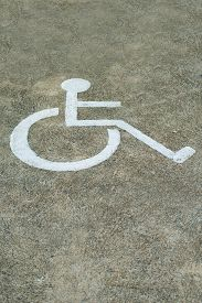 pic of handicapped  - Sign Disabled Or Handicapped - JPG