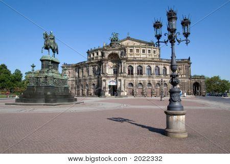 Semper Opera House In Dresden