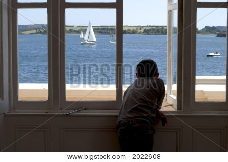 Watching The Boats