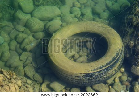 Old Car Tire