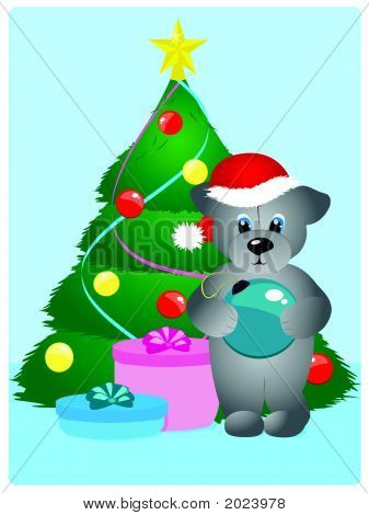 Christmas Teddy Bear