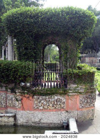 Italian Style Garden Arch And Terrace