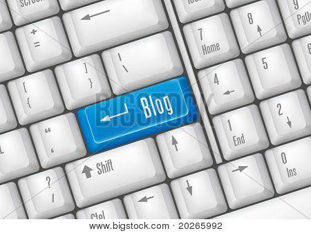 keyboard buttons - blog