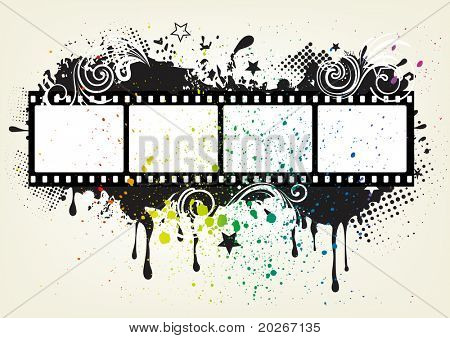 design element for movie theme