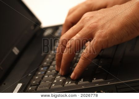 Hands On Laptop.