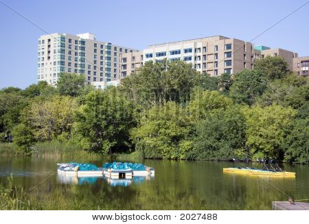 Condos And Paddle Boats