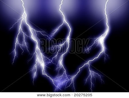 Blue triple Lightning