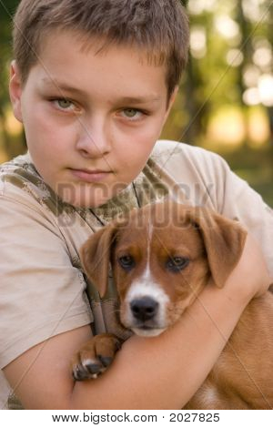 Boy And His Pet