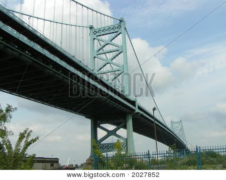 The Benjamin Franklin Bridge