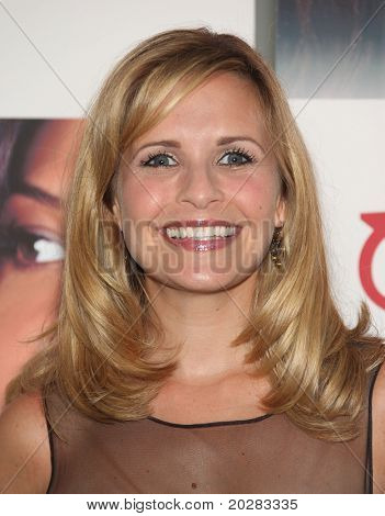 LOS ANGELES - MAY 15:  Sally Pressman arrives to Disney|ABC Television Group Summer Press Junket on May 15, 2010 in Burbank, CA