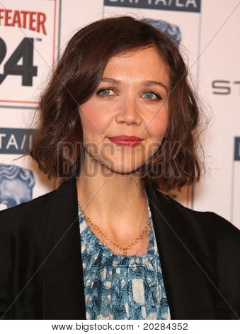 LOS ANGELES - JAN 16:  Maggie Gyllenhaal arrives to the 'BAFTA LA Annual Awards Season Tea Party  on January 16,2010 in Beverly Hills, CA
