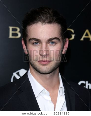 LOS ANGELES - JAN 13:  Chace Crawford arrives to Bvlgari Hosts Funraiser for Save The Children  on January 13, 2011 in Los Angeles, CA.