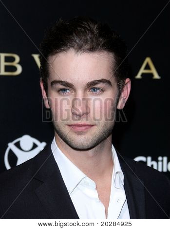 LOS ANGELES - JAN 13:  Chace Crawford arrives at the  Bvlgari Hosts Funraiser for Save The Children  on January 13, 2011 in Los Angeles, CA