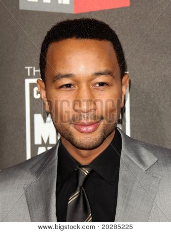 "LOS ANGELES - JAN 14:  John Legend arrives to 16th Annual ""Critics"" Choice Movie Awards  on January 14, 2011 in Los Angeles, CA."