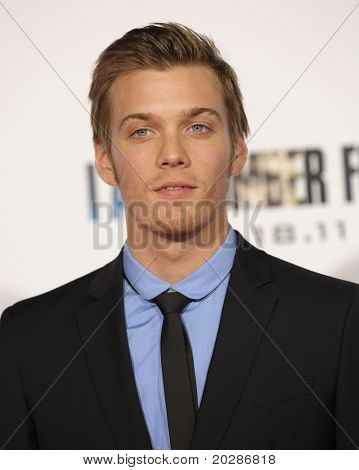 LOS ANGELES - FEB 09:  JAKE ABEL arrives to the