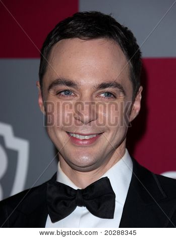 LOS ANGELES - JAN 16:  Jim Parsons arrives at the 12th Annual WB-In Style Golden Globe After Party on January 16, 2011 in Beverly Hills, CA