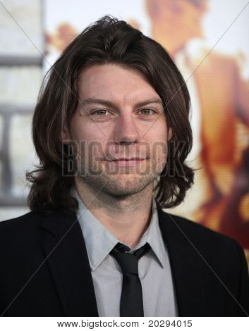 LOS ANGELES - APR 11:  Patrick Fugit arrives to