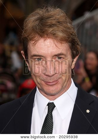 "LOS ANGELES - MAY 07:  Martin Short arrives to the ""Pirates of the Caribbean: On Stranger Tides"" World Premiere  on May 7, 2011 in Anaheim, CA"