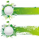 picture of golf  - vector golf design element - JPG