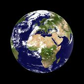 stock photo of planet earth  - Earth planet - JPG