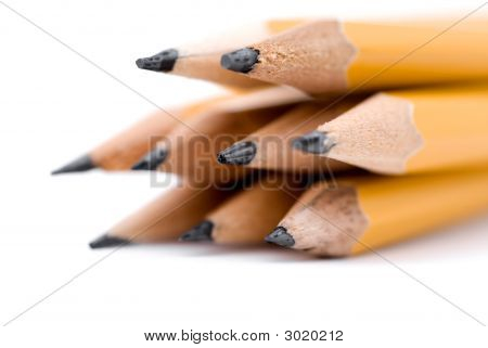 Macro Of Pencils