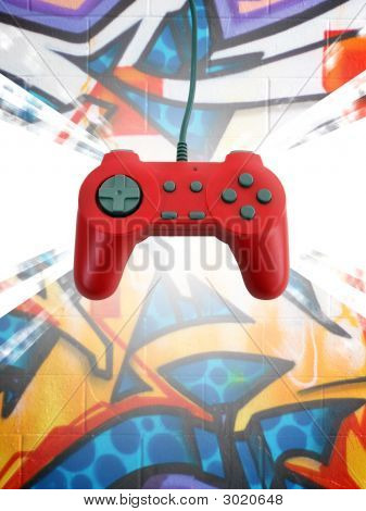 Game Controller W Clipping Path