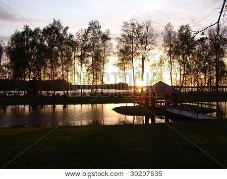 Summerhouse On The Lake