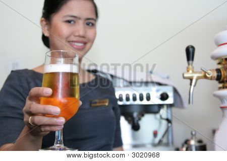 Bartender And Beer