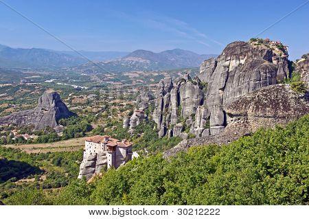 The Holy Monastery of Rousanou. Meteora, Thessalia, Greece