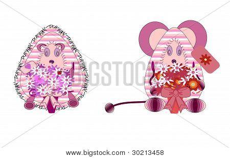 toy animal vector
