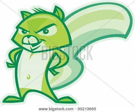 Green Squirrel