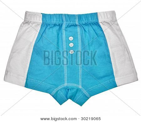 Undershorts - Grey And Blue