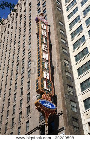 Oriental Theater - Chicago, Illinois