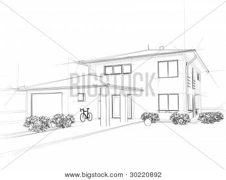 Illustation of a house