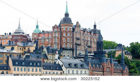 Beautiful Architecture In Stockholms Old Town