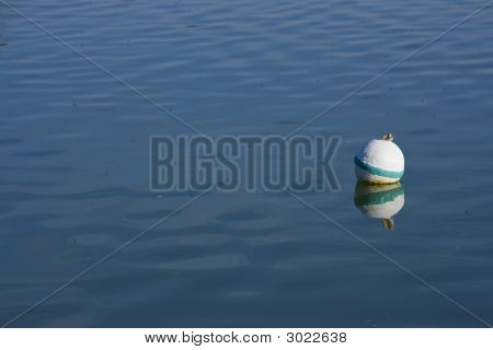 Green Marker Buoy