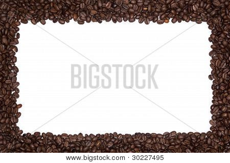 Roasted Coffee Beans Border
