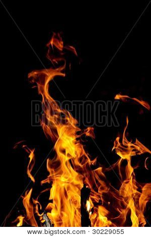 Flames - Campfire