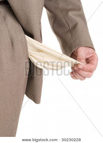 Hands - Broke Businessman