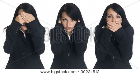 Businesswoman - No Evil