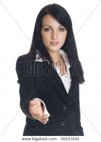 Businesswoman - Handshake
