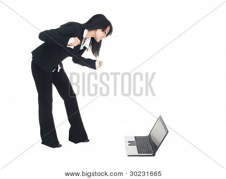 Businesswoman - Angry Pc